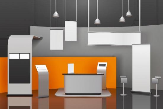 Shell Scheme Booth Design